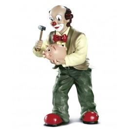 Clown With Piggy Bank (2004)