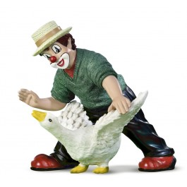 Clown With Goose (2013)