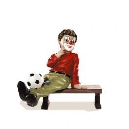 Clown avec ballon