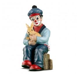 Clown avec lapin