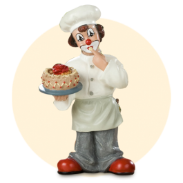 Kok met taart