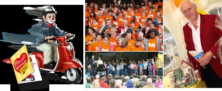 GILDECLOWNS - Spendenkation an die Hermann van Veen Stiftung 2014