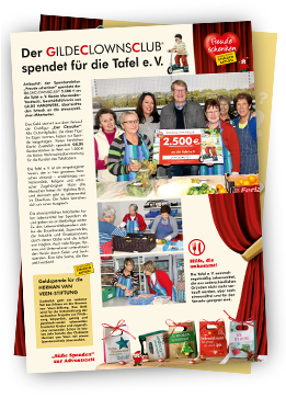 Spendenaktion 2013